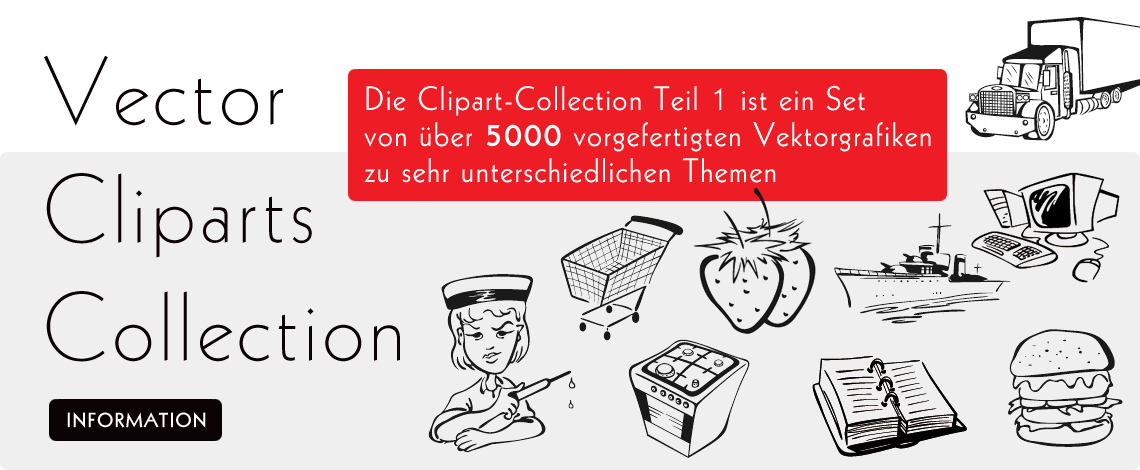 Die Clipart-Collection